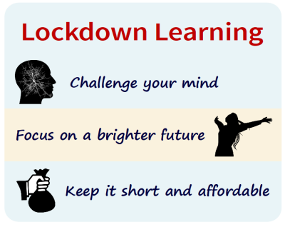 3 reasons for lockdown learning